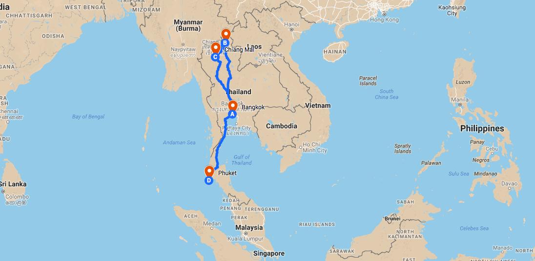 Thaïlande pas cher