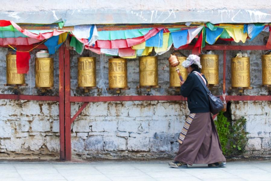 Tibet voyage sur mesure avec guide
