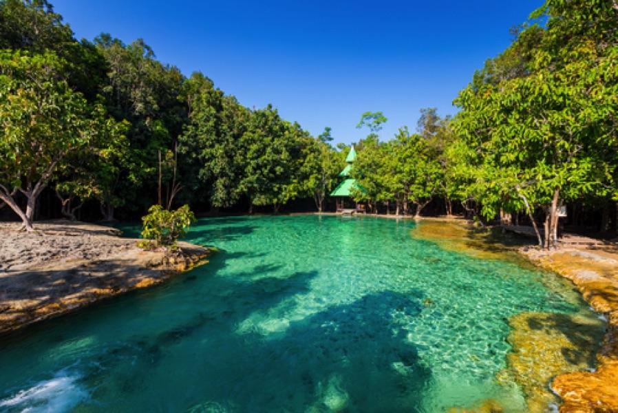 curcuit thailande emerald pool