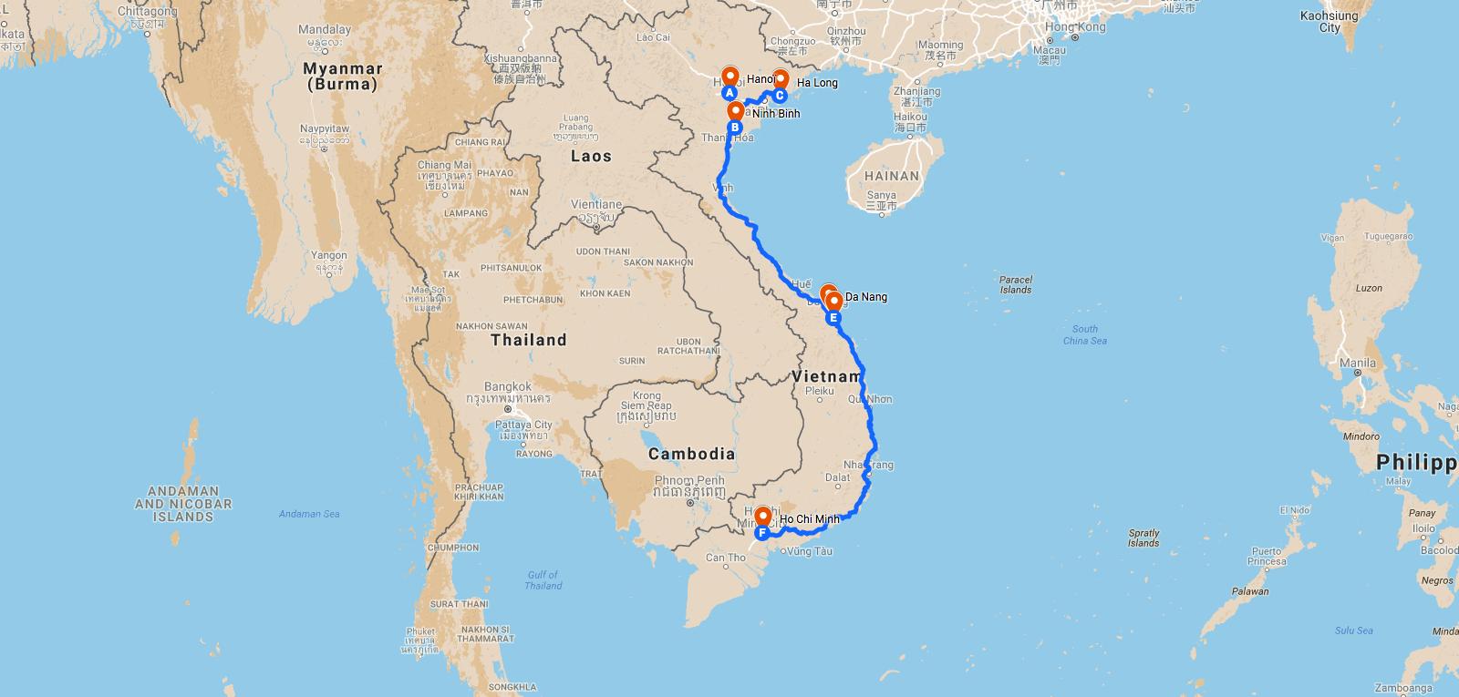 Vacances au Vietnam pas cher