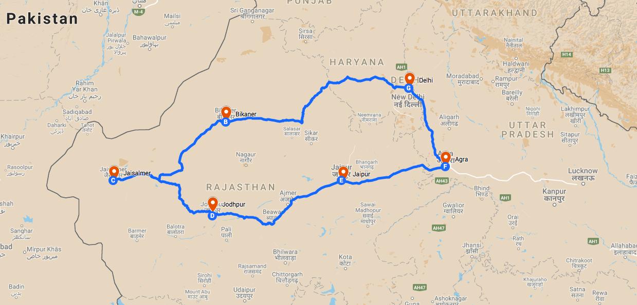 Séjour Inde avec guide